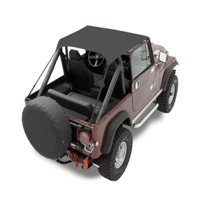 Bestop 52508-01 Black Jeep Wrangler Bikini Top For 1976-1991 CJ-7 And CJ-8 Scrambler On Amazon