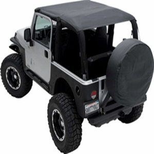 Smittybilt 93635 Extended Top Black Diamond For 1997 To 2006 TJ Wrangler And Rubicon On Amazon