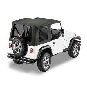 Bestop 79139-01 Jeep Soft Top For 1997-2002 Jeep Wrangler TJ With Tinted Windows Replacement On Amazon