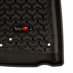 2007-2018 Jeep Wrangler JK Floor Mats JKU Front Floor Liners By Rugged Ridge On Amazon