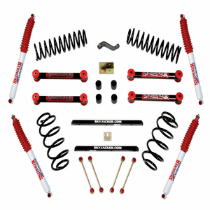 Jeep Wrangler TJ 1997-2006 Complete 4-Inch Pallet Lift Kit System By Skyjacker On Amazon