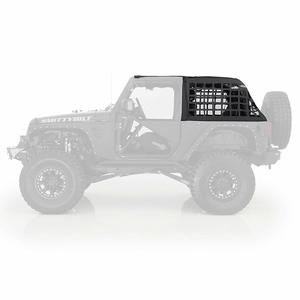 Smittybilt 571035 Jeep Cargo Net Restraint System For 2007-2018 Jeep Wrangler JK 2-Door Models On Amazon