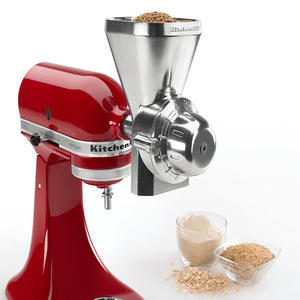 KitchenAid All Metal Grain Mill Stand Mixer Attachment. Model KGM