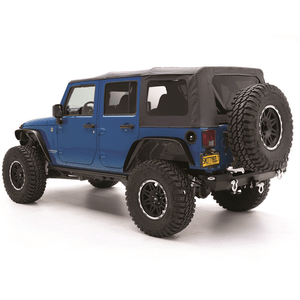 Smittybilt 9080235 Black Diamond Replacement Top with Tinted Side Windows for Jeep JK 4-Door On Amazon