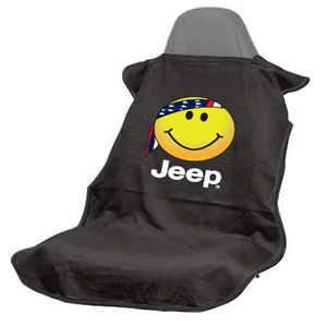 Black Smiley Face Jeep Wrangler Seat Protector Towel Cover On Amazon