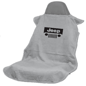 Grey Jeep Grille Jeep Wrangler Seat Protector Towel Cover On Amazon
