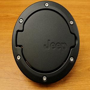 Mopar 82210609AC 2007 - 2017 Jeep Wrangler Satin Black Cover Gas Cap Fuel Filler Door On Amazon