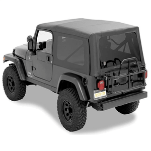 Bestop 54721-35 Black Diamond Replacement Soft Top For 2004-2006 Jeep Wrangler Unlimited TJ On Amazon