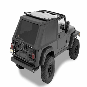 Bestop 56821-35 Jeep Wrangler TJ Unlimited Soft Top Replacement Complete Frameless Model On Amazon