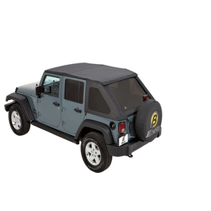 Jeep Soft Top Replacement With Sunrider Sunroof For 2007-2018 JK Wrangler Unlimited 4-Door Models On Amazon