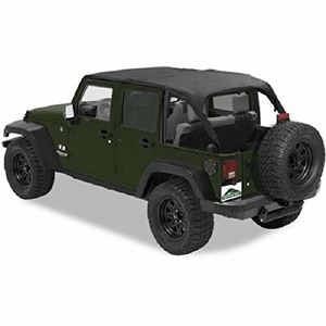 Jeep Wrangler Bikini Top Mesh Sunshade For 2007-2017 Wrangler JK Unlimited By Bestop On Amazon