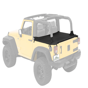 Pavement Ends Jeep Cargo Cover For 2007-2018 Jeep Wrangler JK 2-Door Models By Bestop On Amazon