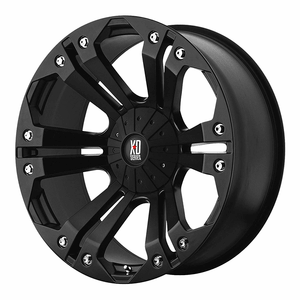 KMC Wheels XD Series Monster Wheel With Matte Black Finish On Amazon