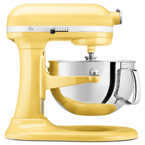 KitchenAid Professional 600 Series 6 Quart Bowl Lift Stand Mixer - Majestic Yellow Model KP26M1XMY