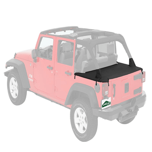Pavement Ends Jeep Cargo Cover For 2007-2018 Jeep Wrangler JK Unlimited By Bestop On Amazon
