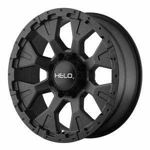 Helo HE878 Jeep Wheel With Satin Black Finish On Amazon