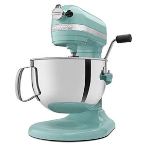 KitchenAid Professional 600 Series 6 Quart Bowl Lift Stand Mixer, Aqua Sky, Model KP26M1XER