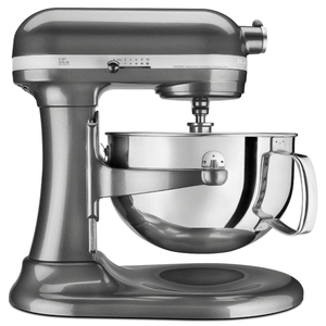 KitchenAid Professional 600 Series Bowl Lift Stand Mixer, 6 Quart, Liquid Graphite Model KP26M1XER