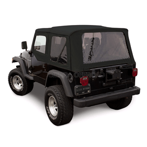 Sierra Offroad Jeep Soft Top For 1997-2002 Jeep Wrangler TJ Factory Style With Tinted Windows On Amazon