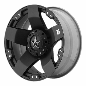 XD Series By KMC Wheels XD775 Rockstar Matte Black Jeep Wheel On Amazon