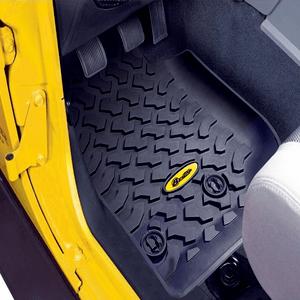 Front Jeep Wrangler JK Floor Mats 2007-2018 JKU Pair By Bestop On Amazon