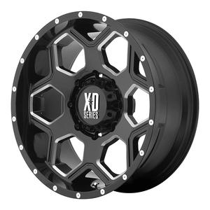 XD Series By KMC Wheels XD813 Battalion Gloss Black Wheel On Amazon