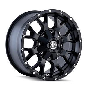 Mayhem Warrior 8015 Wheel With Matte Black Finish On Amazon