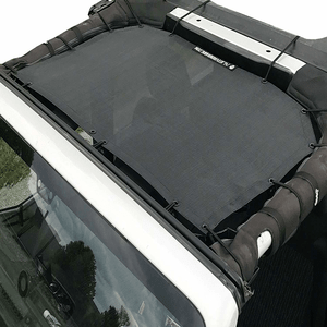 Black Durable Jeep Sunshade Mesh Top For 2007-2018 Jeep Wrangler JK And JKU On Amazon