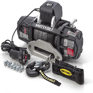 Smittybilt X2O COMP 12V 12,000 lb. Load Capacity Jeep Winch With Synthetic Rope On Amazon
