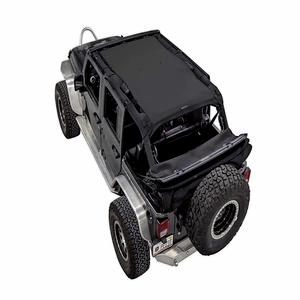 Jeep Wrangler Sunshade Mesh Shade Top UV Protection With 5 Year Warranty On Amazon