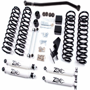 2007-2018 Jeep Wrangler Unlimited JK 4-Inch Full Suspension Lift Kit Zone Offroad On Amazon
