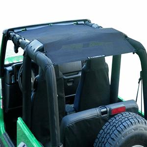 Black Jeep Wrangler Sunshade Bikini Top For Jeep TJ & Jeep YJ Jeep Mesh Top On Amazon