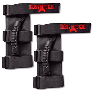 Jeep Wrangler Grab Handles for Roll Bar 2 Pack Fits Jeep CJ, JK, TJ Triple Banded And Easy to Install On Amazon