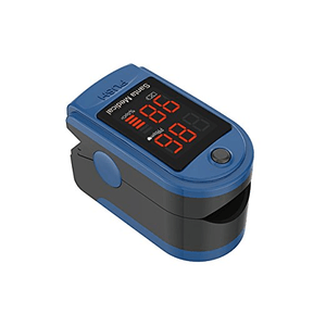 Santamedical Generation 2 Fingertip Pulse Oximeter Oximetry Blood Oxygen Saturation Monitor in Blue