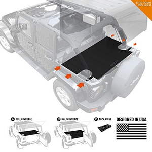 GPCA Jeep Cargo Cover Lite For 4DR Jeep Wrangler Unlimited 2007-2018 Models On Amazon