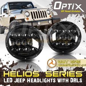 Jeep Wrangler LED Headlights With Philips LED Fits Jeep JK TJ LJ Unlimited 1997-2017 On Amazon