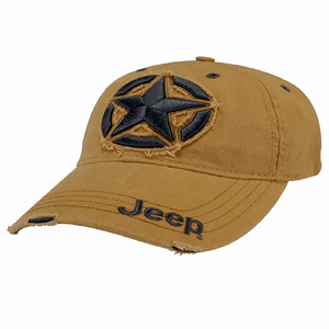 Jeep 3D Star Cap Cotton Twill With Centered 3D Distressed Star Hat On Amazon