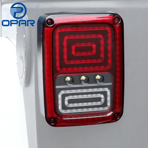 Opar Snake Style Rear Tail Light for 07-18 Jeep Wrangler JK & Wrangler Unlimited