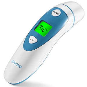 Digital Ear Thermometer With dual Forehead Function By ANKOVO