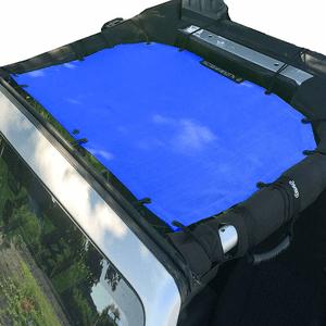 Jeep Sunshade Mesh Top By Alien Sunshade For 2007-2018 Jeep Wrangler JK JKU 2-4 Door On Amazon
