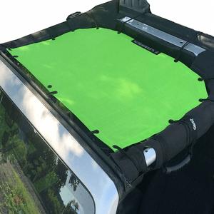 Jeep Sunshade Mesh Top For Jeep Wrangler 2-Door JK 4-Door JKU 2007-2018 By Alien Sunshade On Amazon