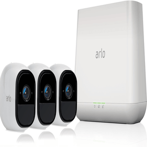 Arlo Pro Indoor / Outdoor Wireless Home Security Camera System with Siren