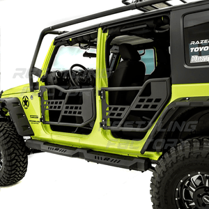 2007-2018 Jeep Wrangler JK Unlimited Half Doors 4-Door Front And Rear Set Without Mirrors On Amazon
