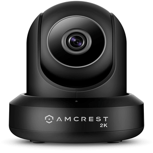 Amcrest UltraHD 2K Wireless Home Security IP Camera with Pan / Tilt and Night Vision