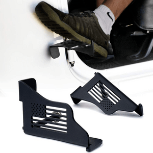 Solid Steel Jeep Wrangler Foot Pedals Footrest Pegs For 2007-2018 Jeep JK JKU On Amazon