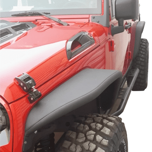 Safaripal Aluminum Jeep Wrangler Fender Flares for 2007-2017 JK and Unlimited