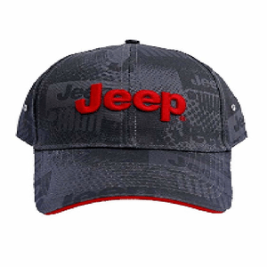 Jeep Charcoal Watermark Cap Adjustable With Grey Jeep Grille Watermark On Amazon