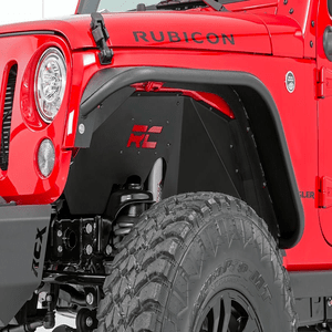 Rough Country Jeep Wrangler JK Front Steel Inner Fender Liners