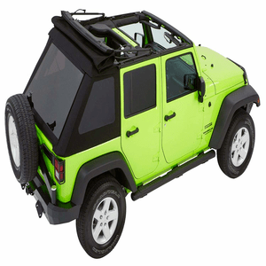Jeep Soft Top For 2007-2018 Jeep Wrangler JK 4-Door Unlimited Convertible Black Diamond Trektop NX On Amazon