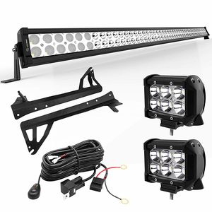 50-Inch 288W Jeep LED Light Bar Combo Kit For Jeep Wrangler JK 2007-2018 On Amazon